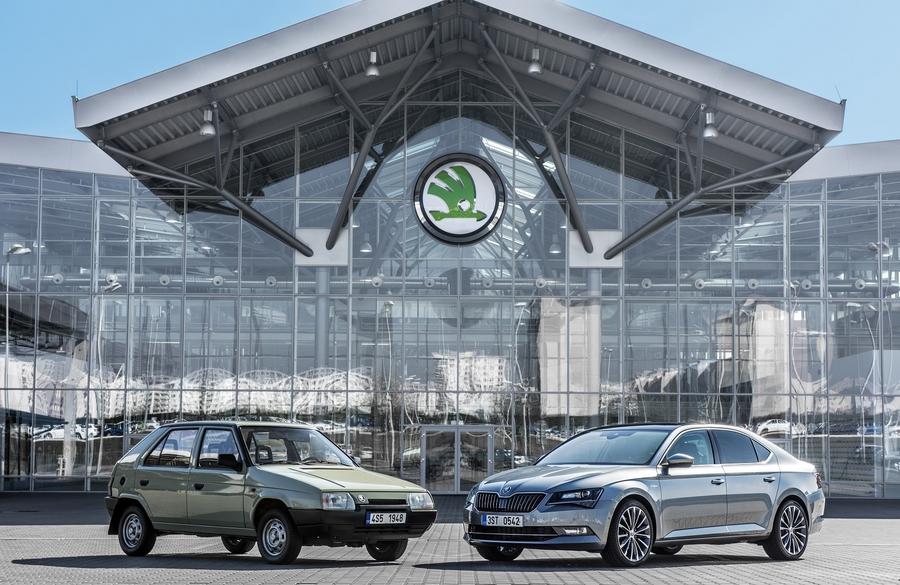 Skoda и Volkswagen - 25 лет вместе