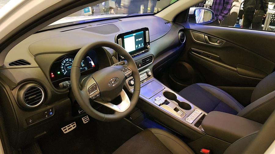 Hyundai Kona EV на iForum