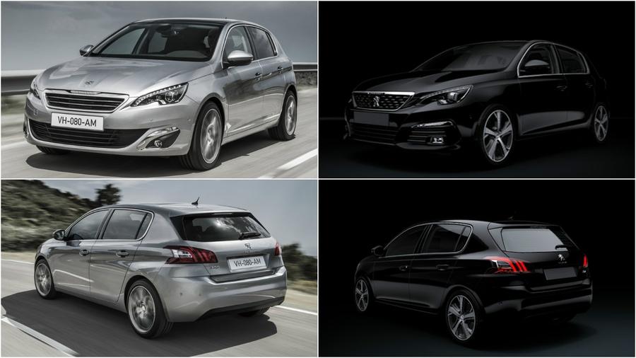Peugeot 308: нынешний и обновленный