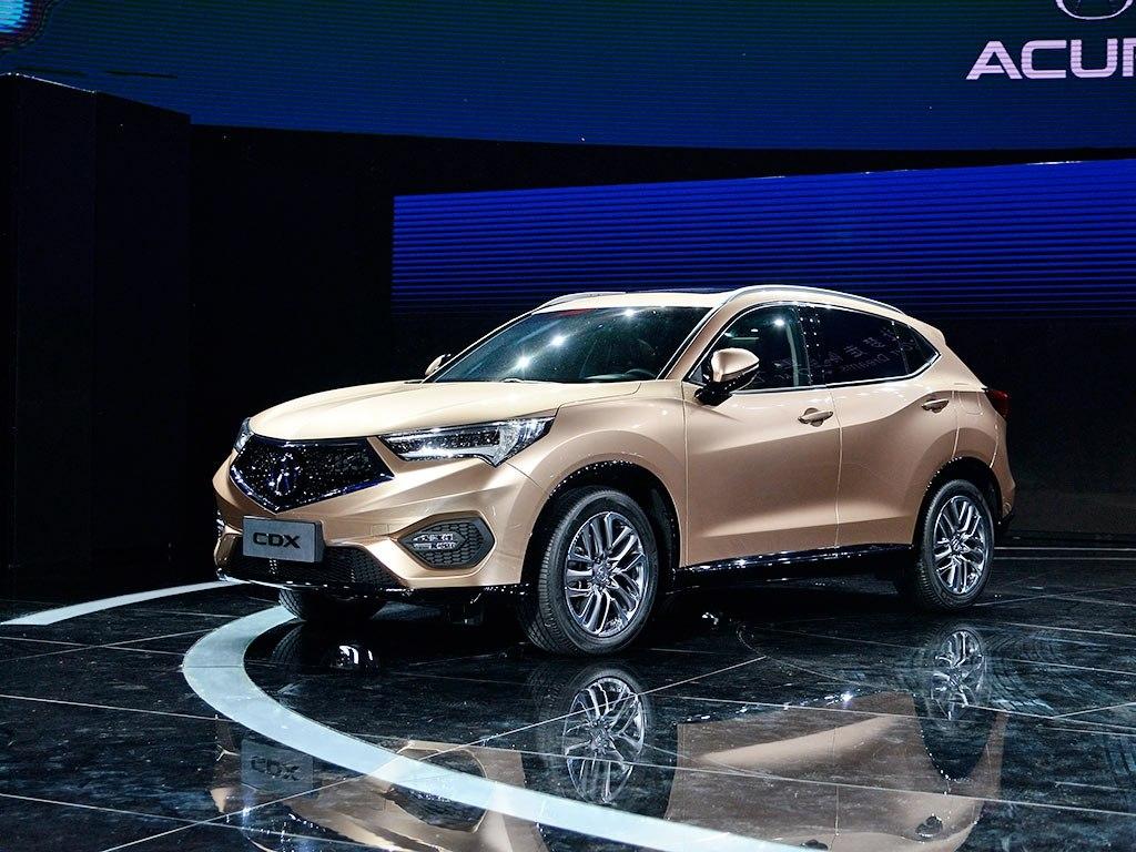 Кроссовер CDX стал первым автомобилем Acura из Китая