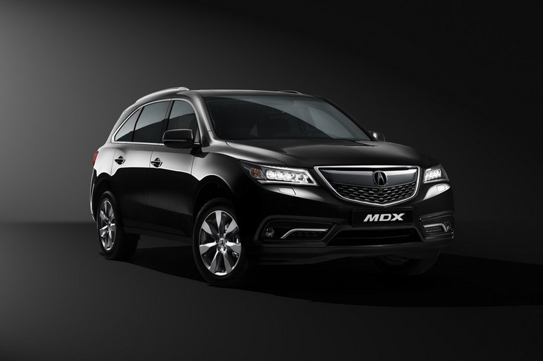Объявлены украинские цены на обновлённый Acura MDX
