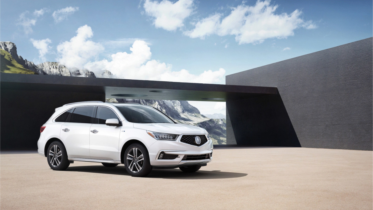 Acura представила свой первый кроссовер с гибридной силовой установкой