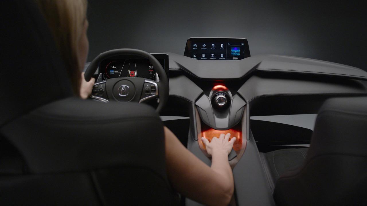 Acura показала автомобильный интерьер будущего (видео)