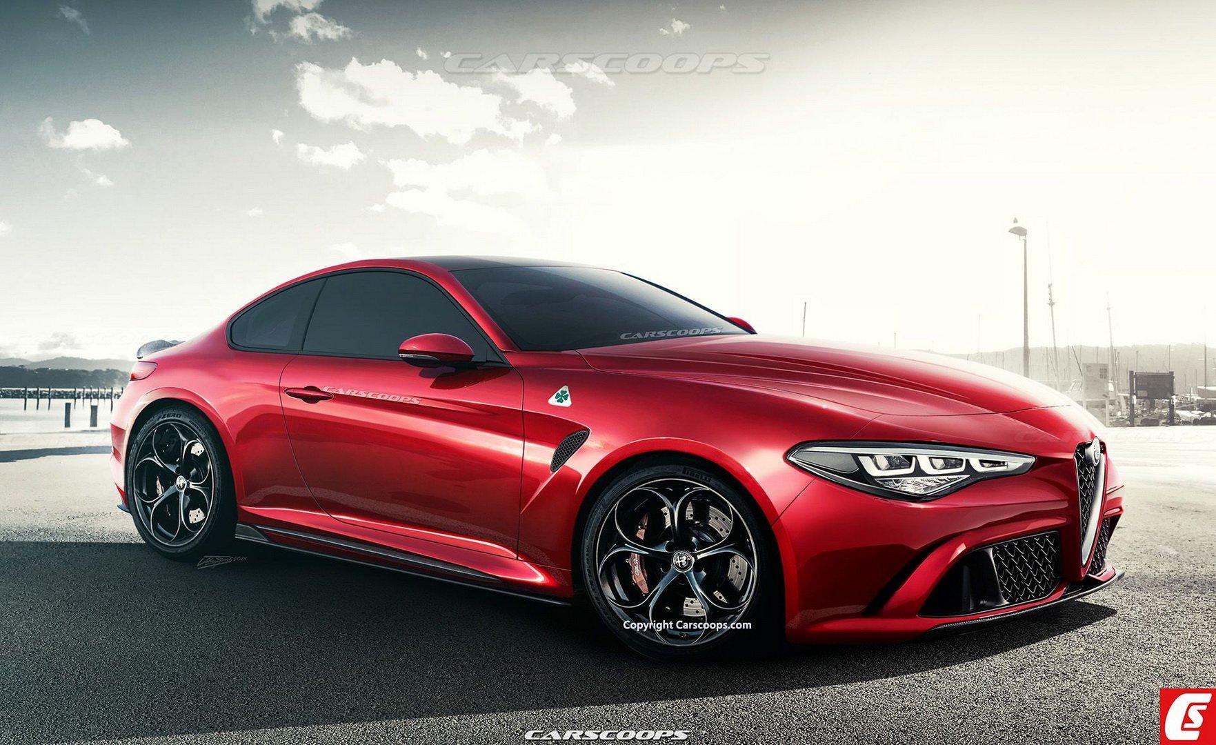 Гибридный суперкар Alfa Romeo GTV появится в 2021 году