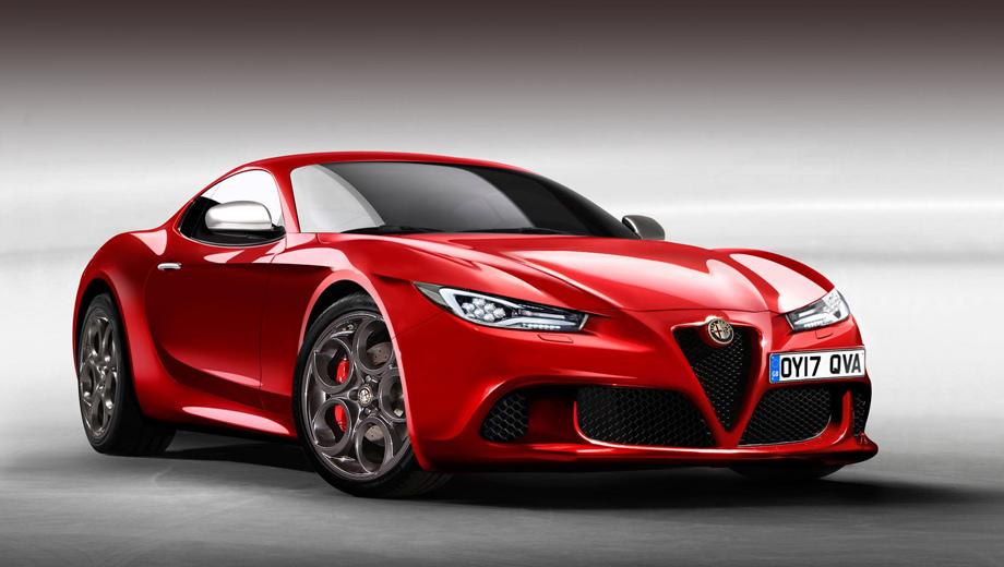 Alfa Romeo выпустит спортивное купе 6C