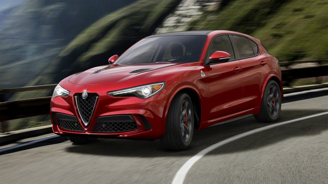 Alfa Romeo представила свой первый кроссовер – Stelvio