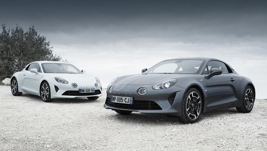 Купе Alpine A110 получит две новые версии