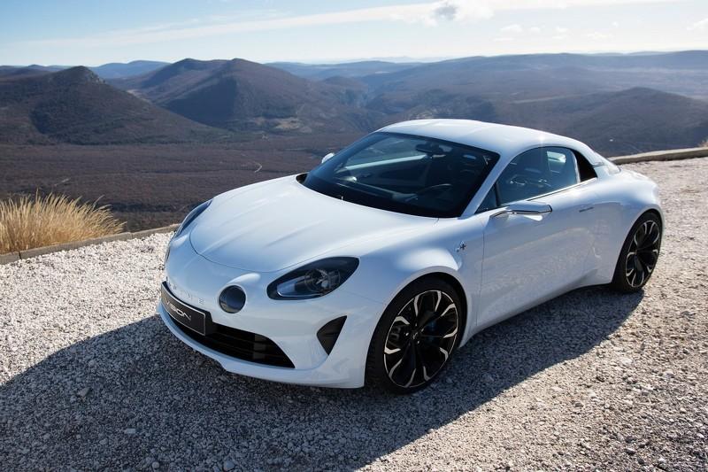 Французская Alpine представила на 80% серийное купе