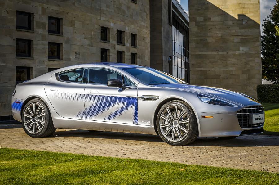 Aston Martin показал электромобиль RapidE