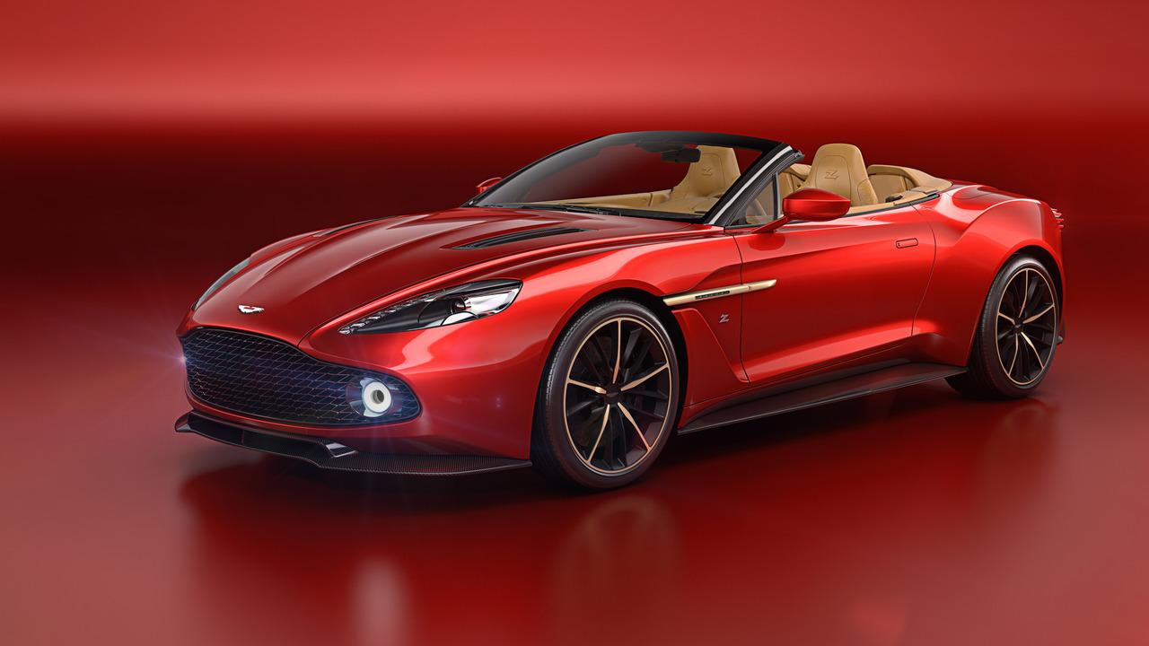 «Тираж» кабриолета Aston Martin Zagato Volante ограничили 99 экземплярами