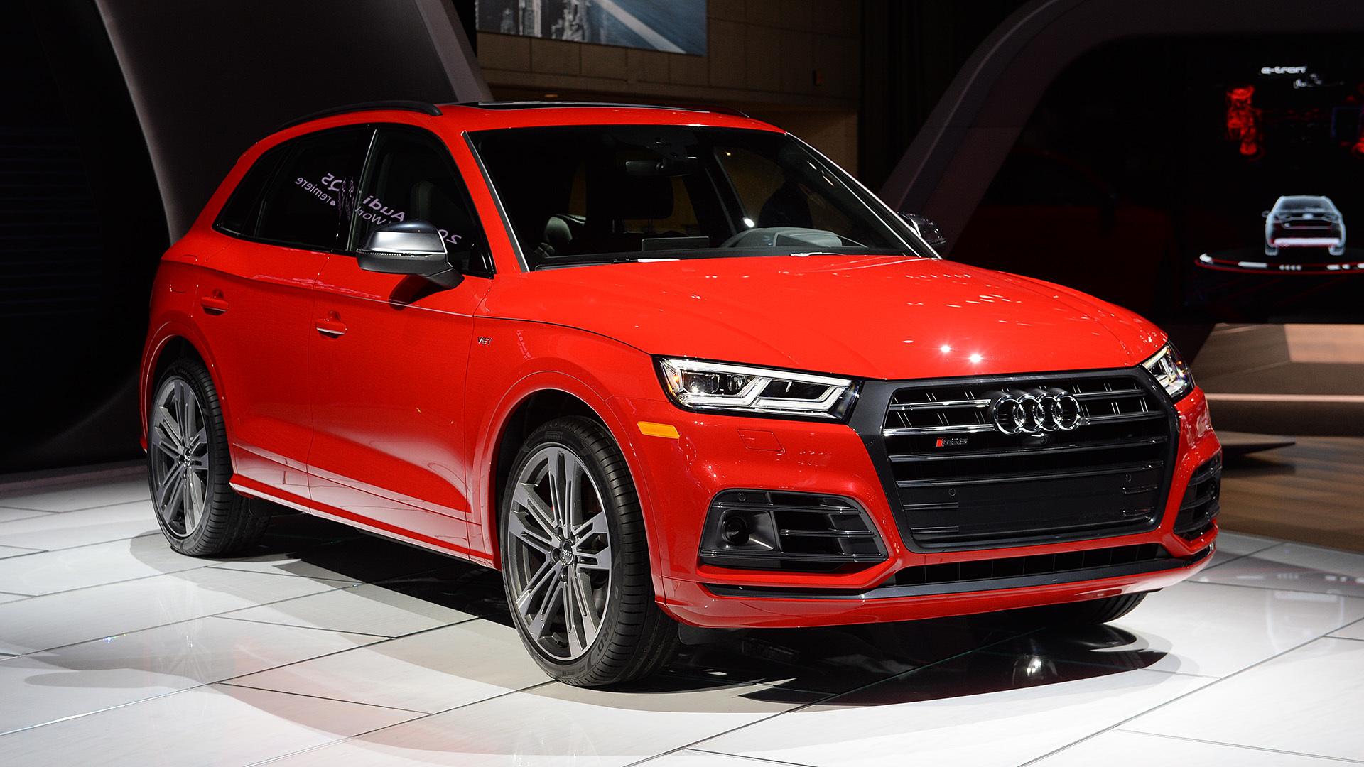 Детройт 2017: представлен кроссовер Audi SQ5 нового поколения