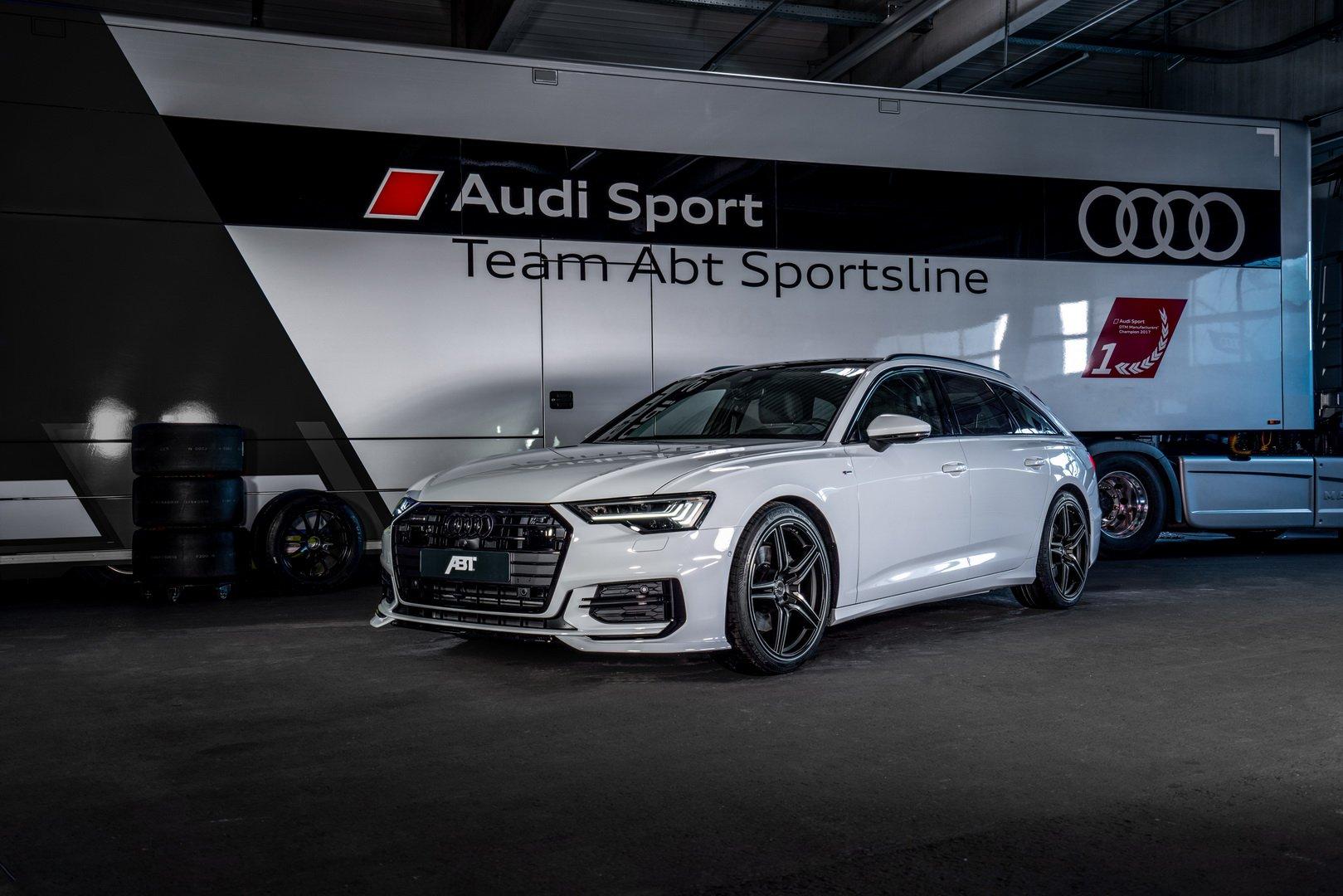 Тюнеры ABT доработали универсал Audi A6 Avant