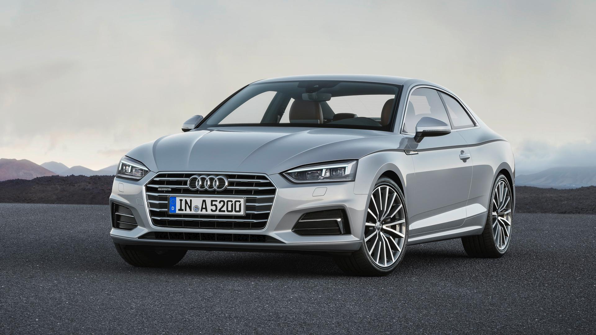 Новые купе Audi A5/S5 отдалились от родственников в вопросе дизайна