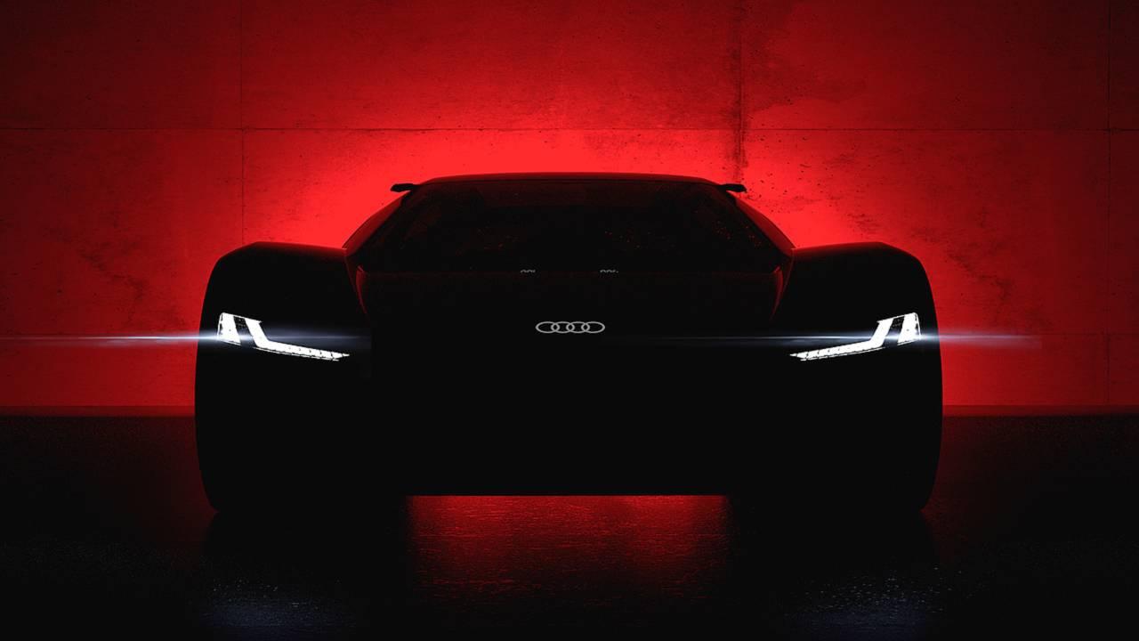 Анонсирован электрический суперкар Audi