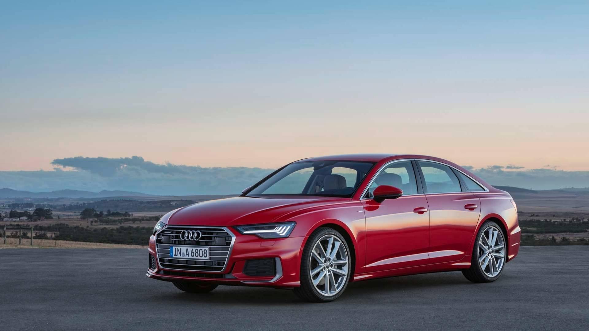Audi представила седан A6 нового поколения