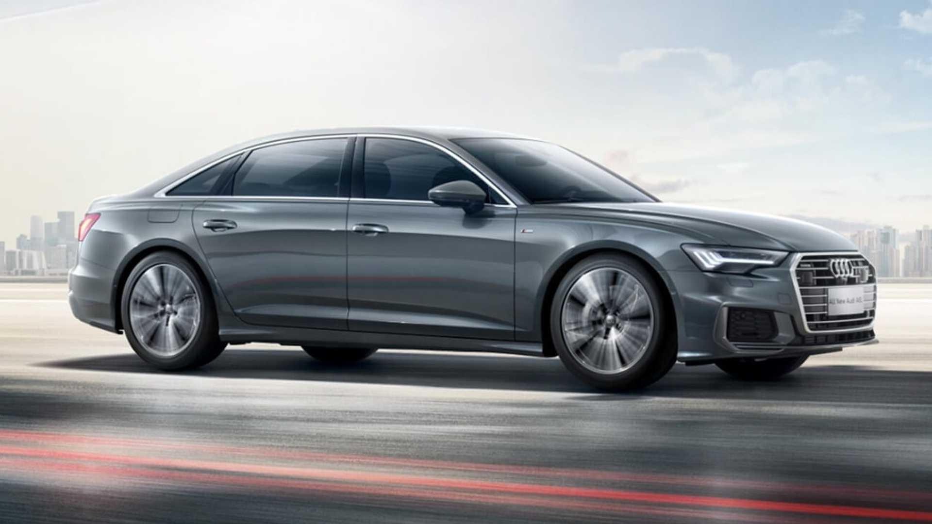 Длиннобазный седан Audi A6L представили в Китае