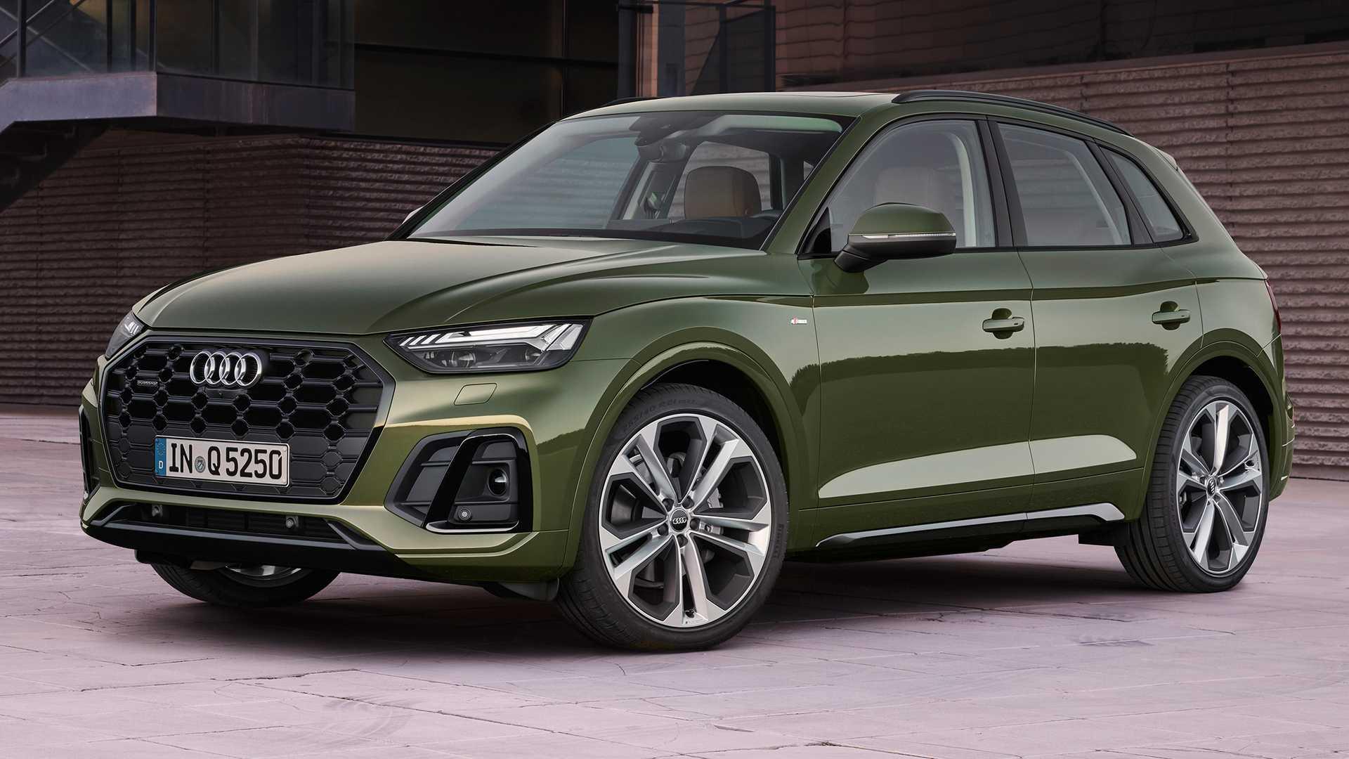 Der aktualisierte Crossover Audi Q5: ein neuer Look und eine neue Hybridtechnologie