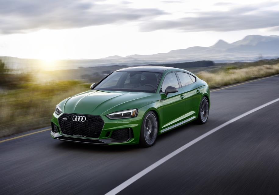 Нью-Йорк 2018: Audi представила «пятидверку» RS5