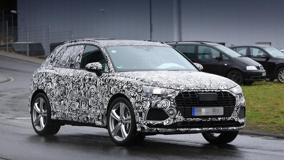 Кроссовер Audi SQ3 заметили на тестах