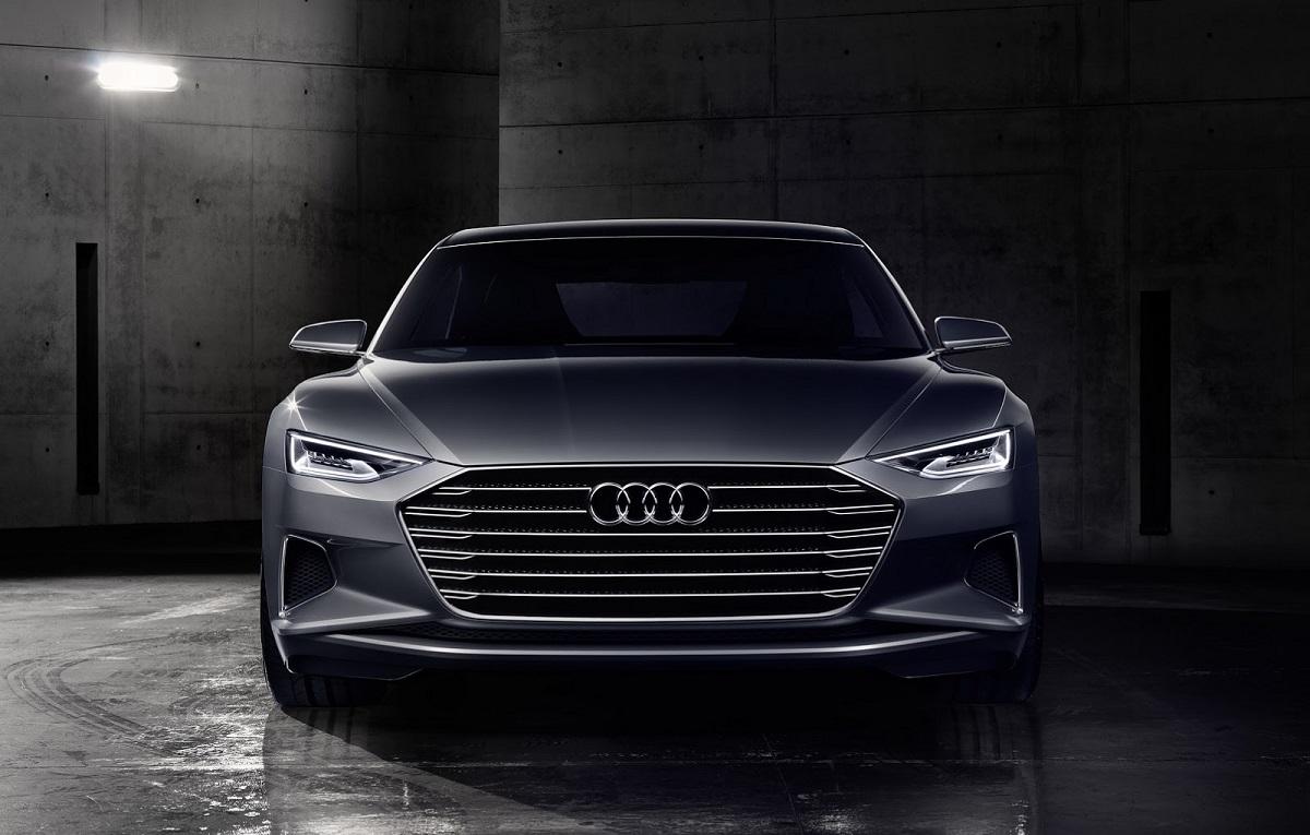 Электрический седан Audi A9 e-tron проедет 500 км от одной зарядки