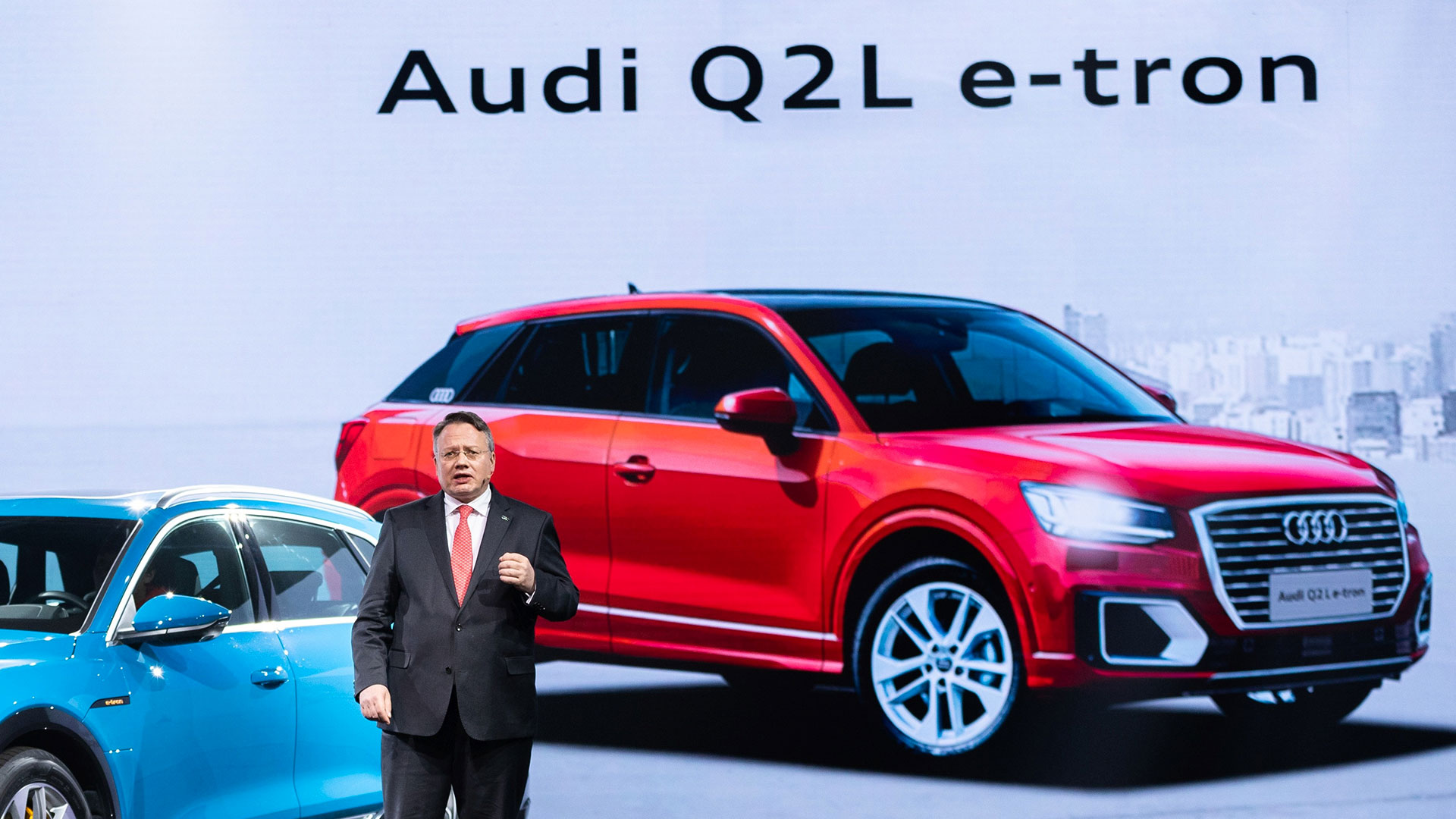 Audi показала электрический кроссовер для Китая
