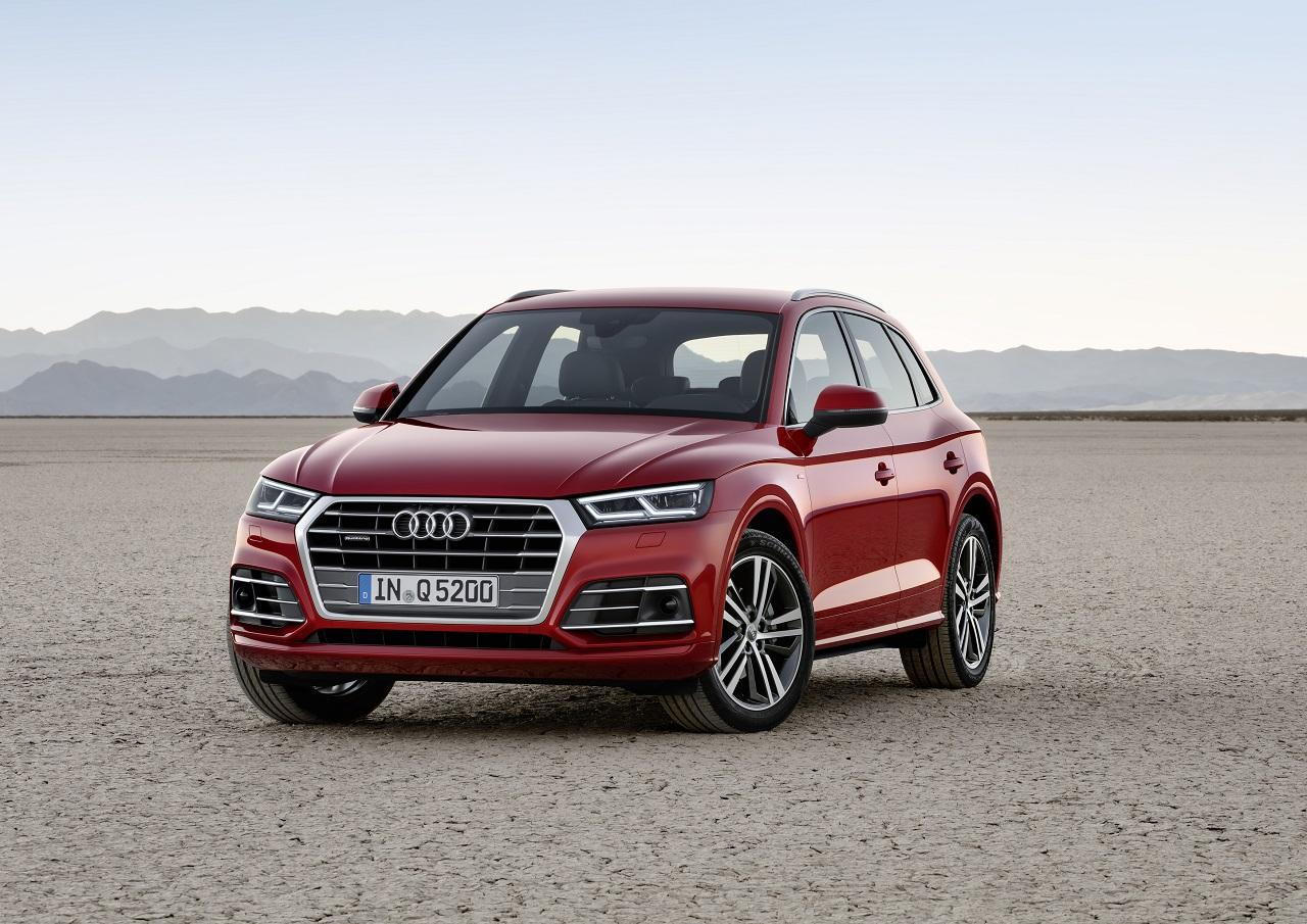 Новый Audi Q5 получил пневмоподвеску и переехал на новый завод