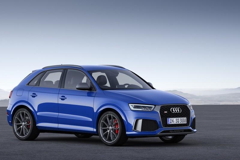 Audi рассекретила самую мощную версию кроссовера RS Q3