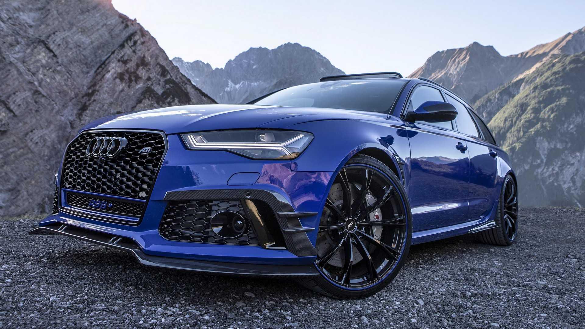 Тюнеры построили 725-сильный универсал Audi RS6