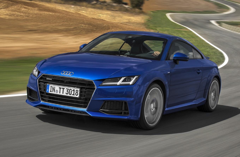 Дизельный Audi TT получил полноприводную трансмиссию