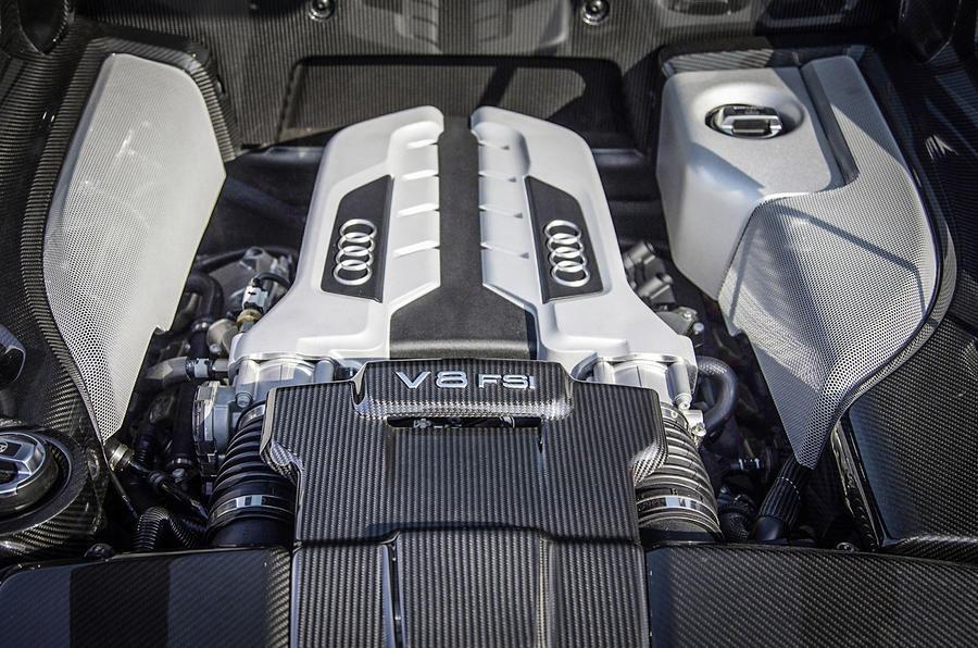 Audi откажется от разработки новых двигателей V8