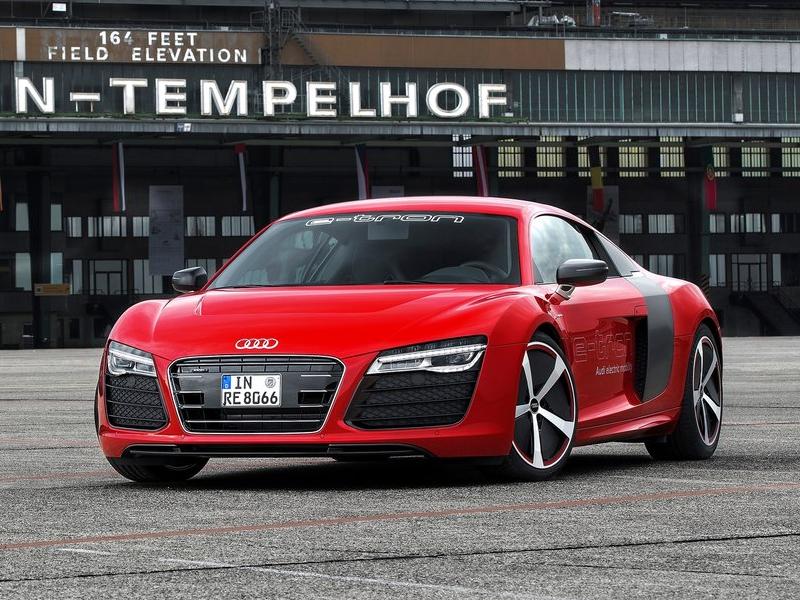 Audi запустит в производство несколько электромобилей