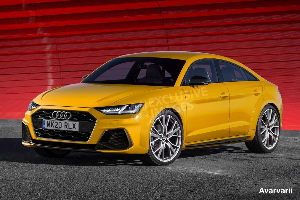 Новая Audi TT станет «четырехдверкой»