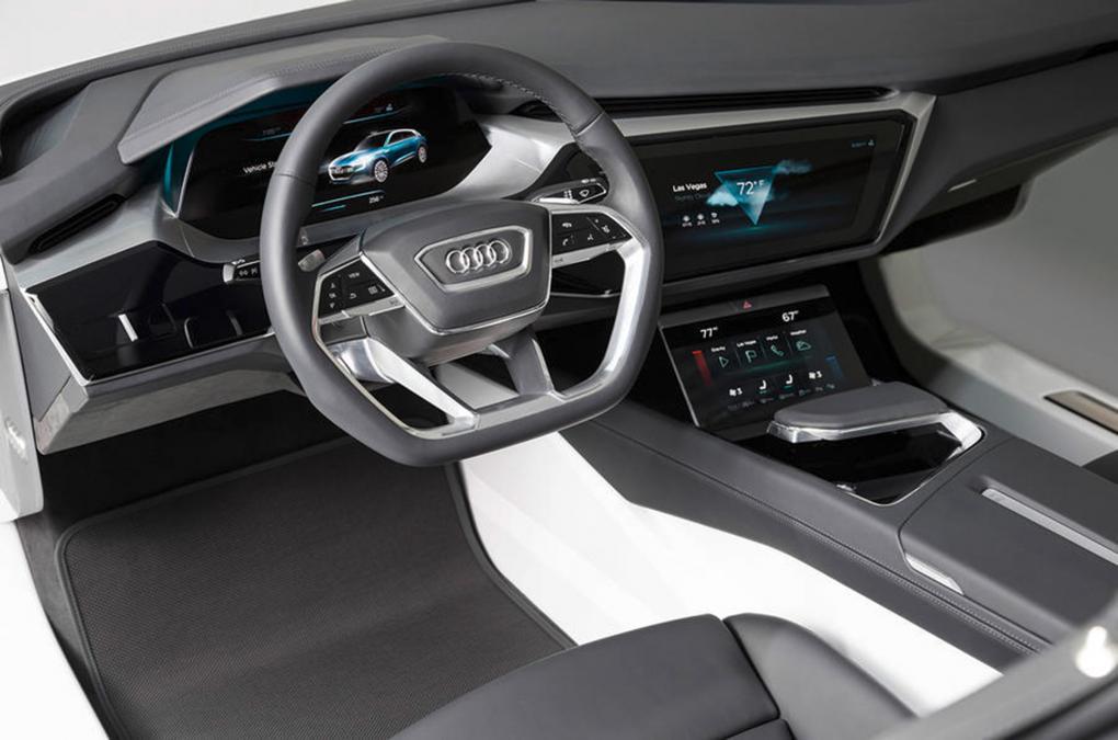 Audi внедрит сенсорные экраны с тактильным откликом