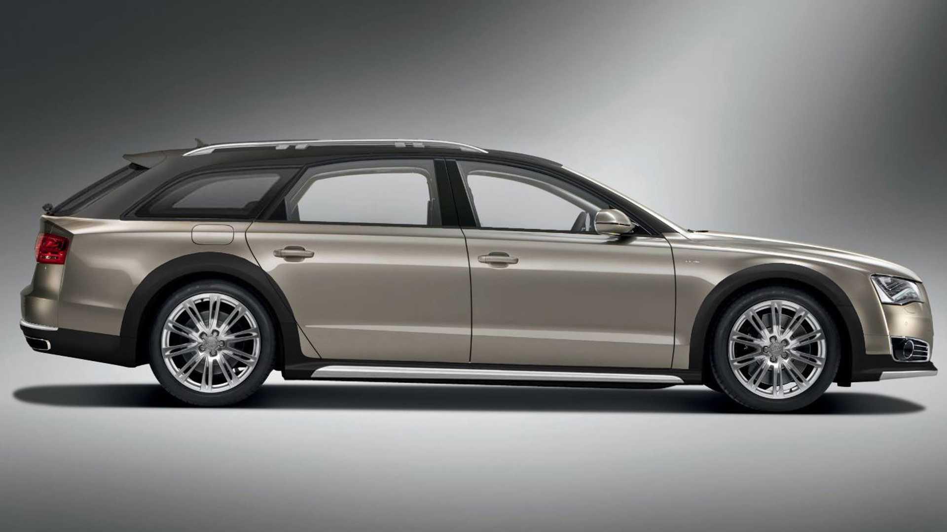 Итальянские тюнеры построят вседорожный универсал Audi A8 Allroad