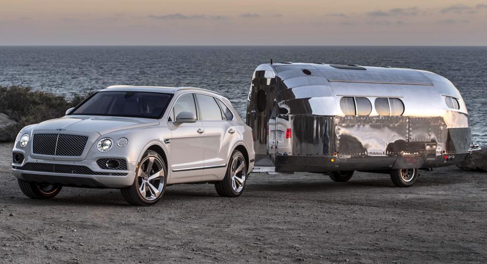 Автомобиль Bentley впервые получил фаркоп
