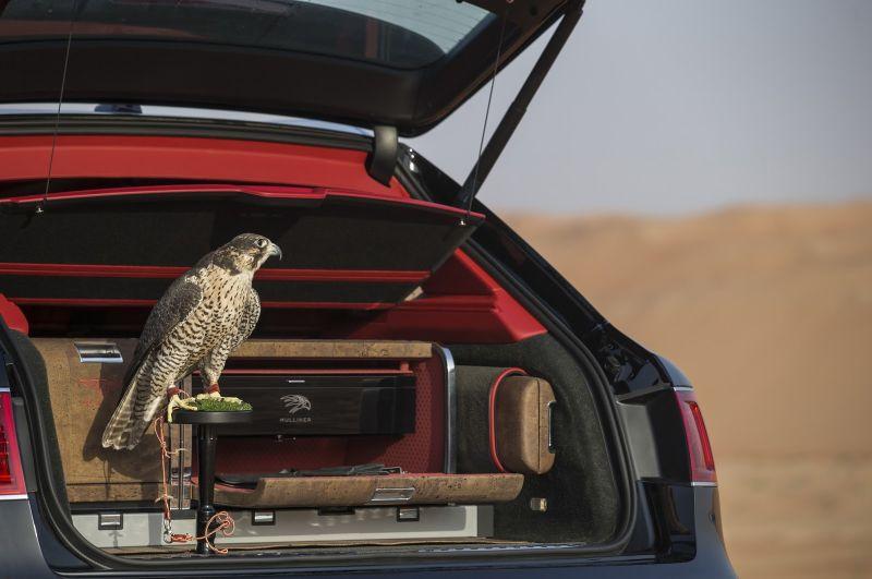 Bentley разработала спецверсию Bentayga для любителей соколиной охоты