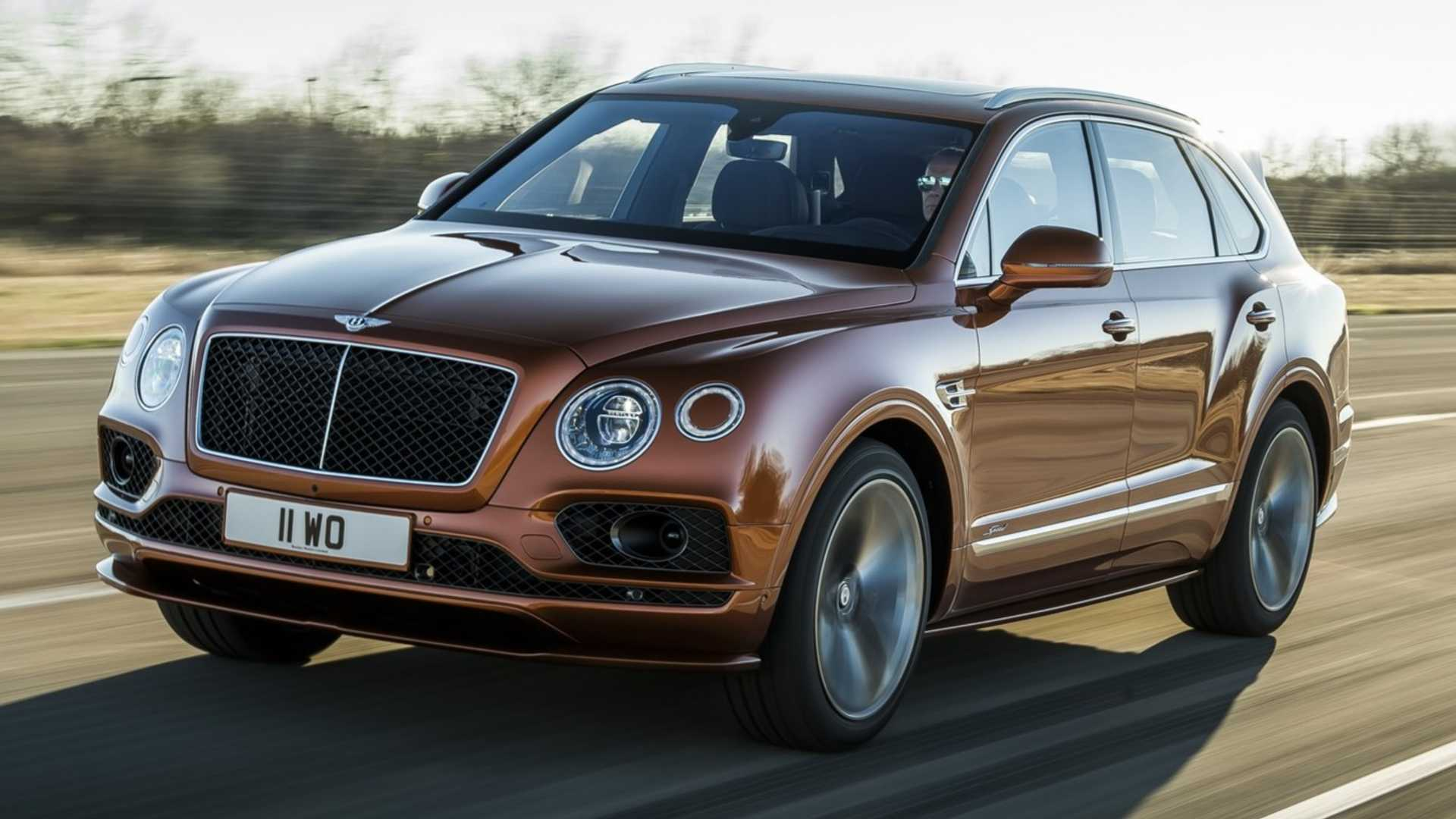 Bentley Bentayga Speed стал быстрейшим в мире кроссовером