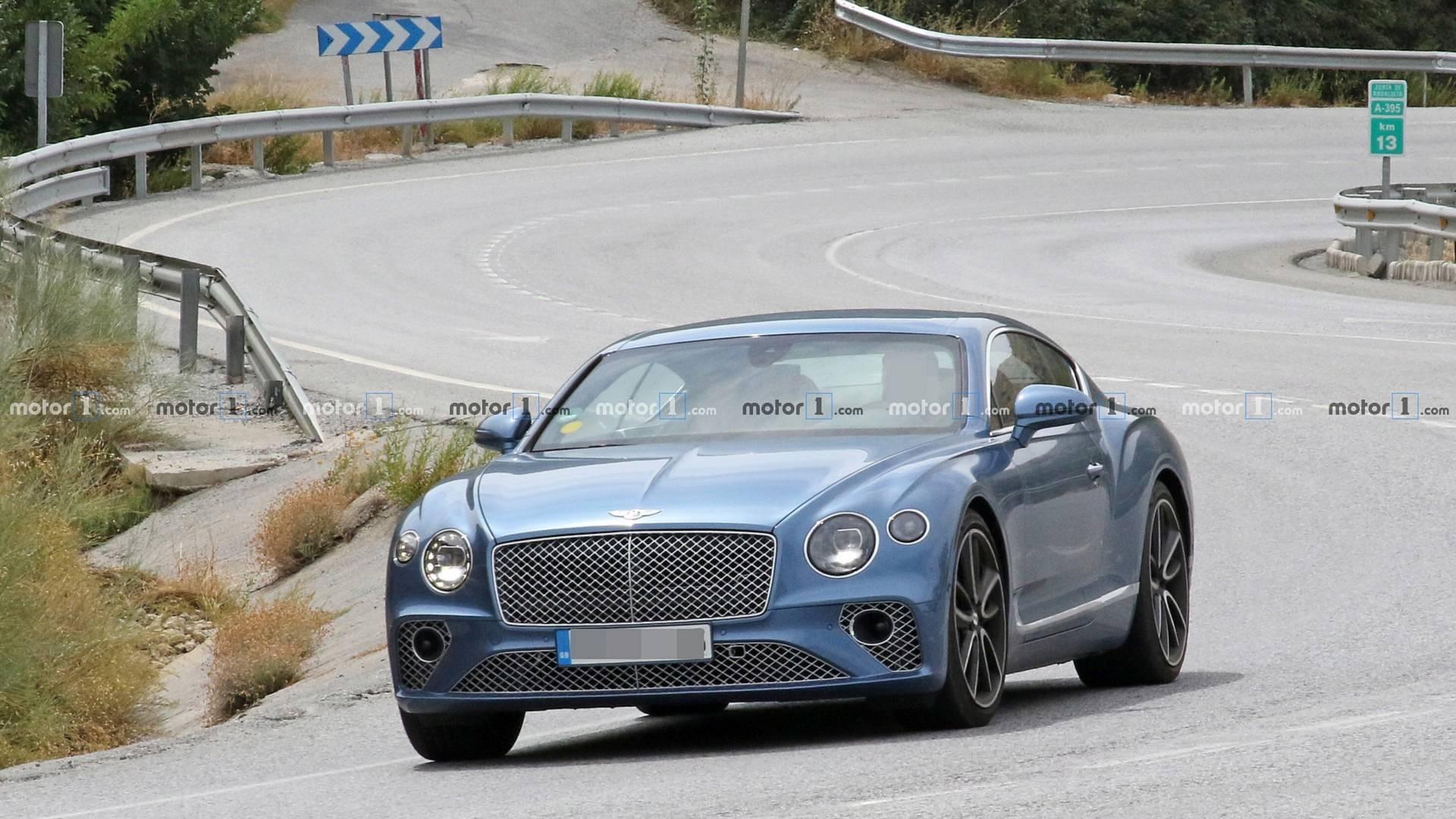 Гибридный Bentley Continental вывели на тесты