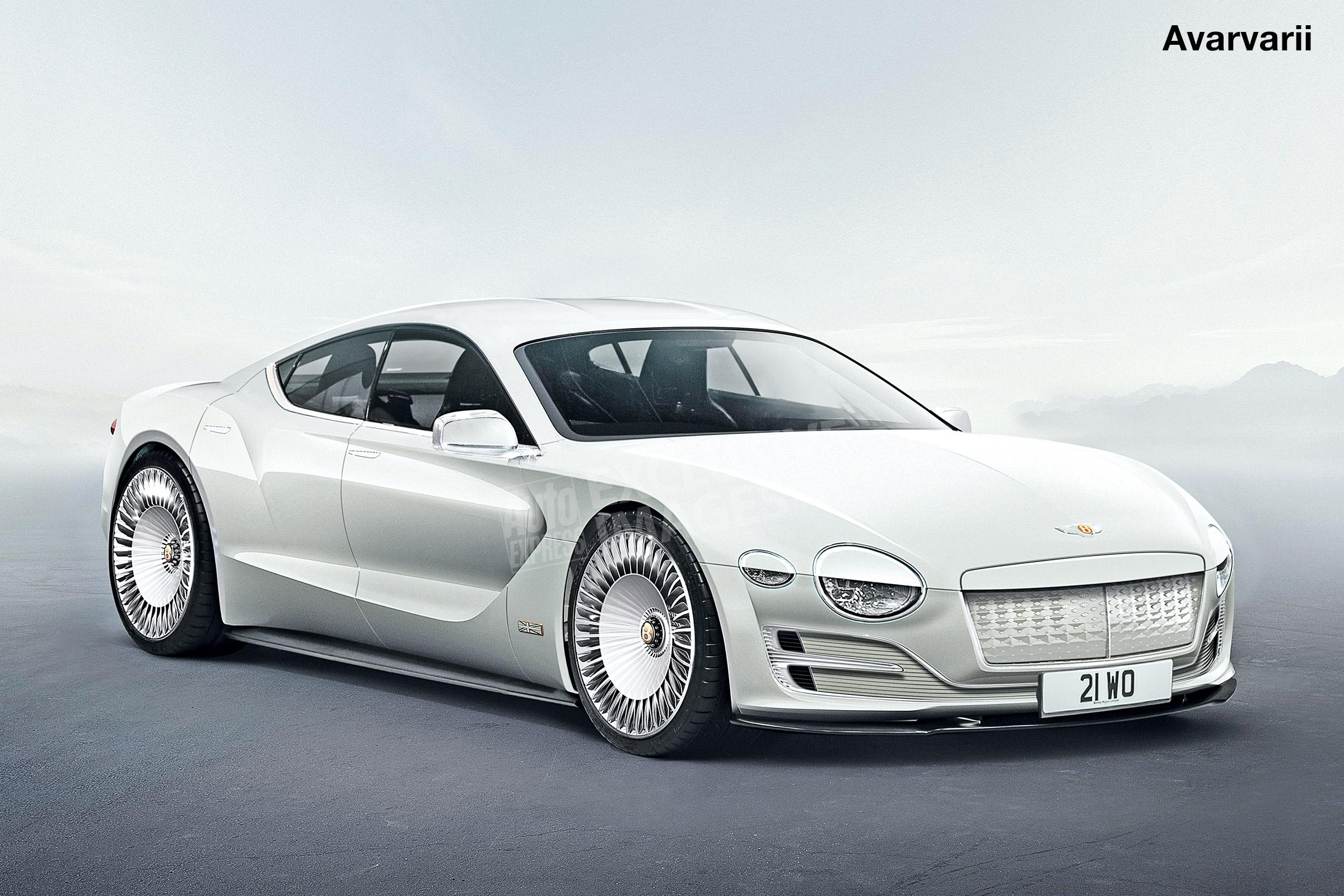 Электромобиль Bentley получит четырёхдверный кузов