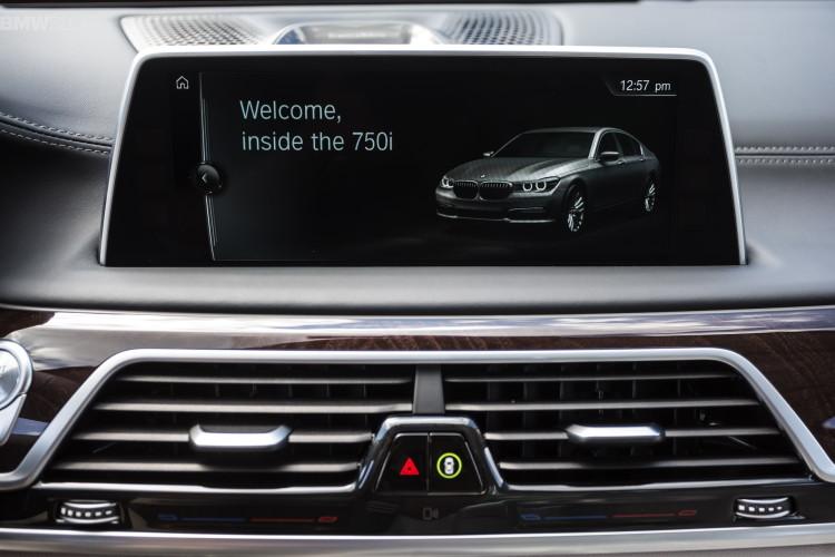 Флагманский седан BMW поделится оборудованием со старшими «Иксами»