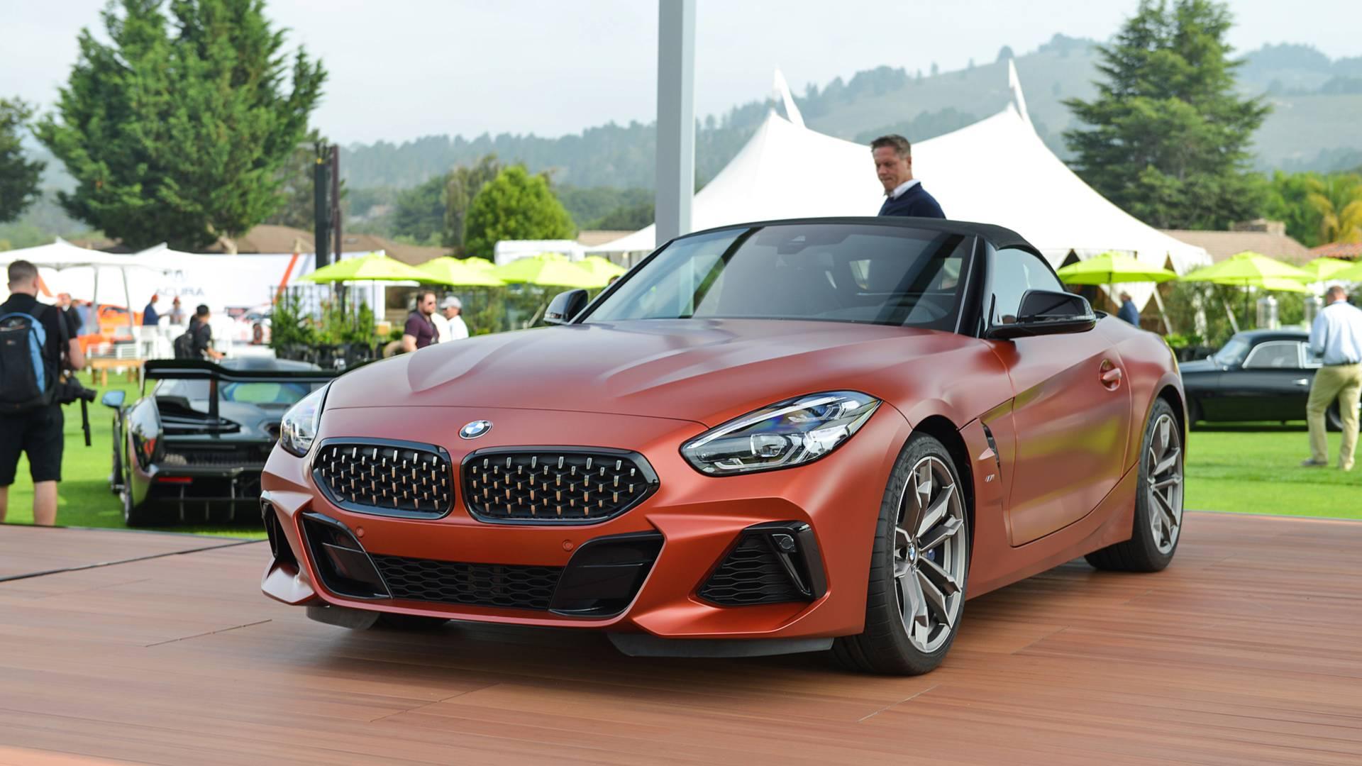 BMW представила новый родстер Z4 третьего поколения