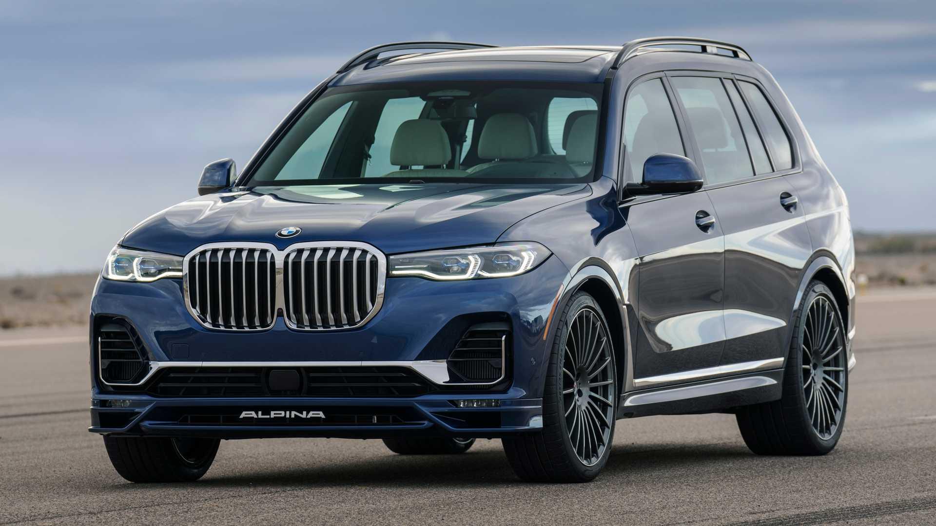 Ателье Alpina представило свой BMW X7