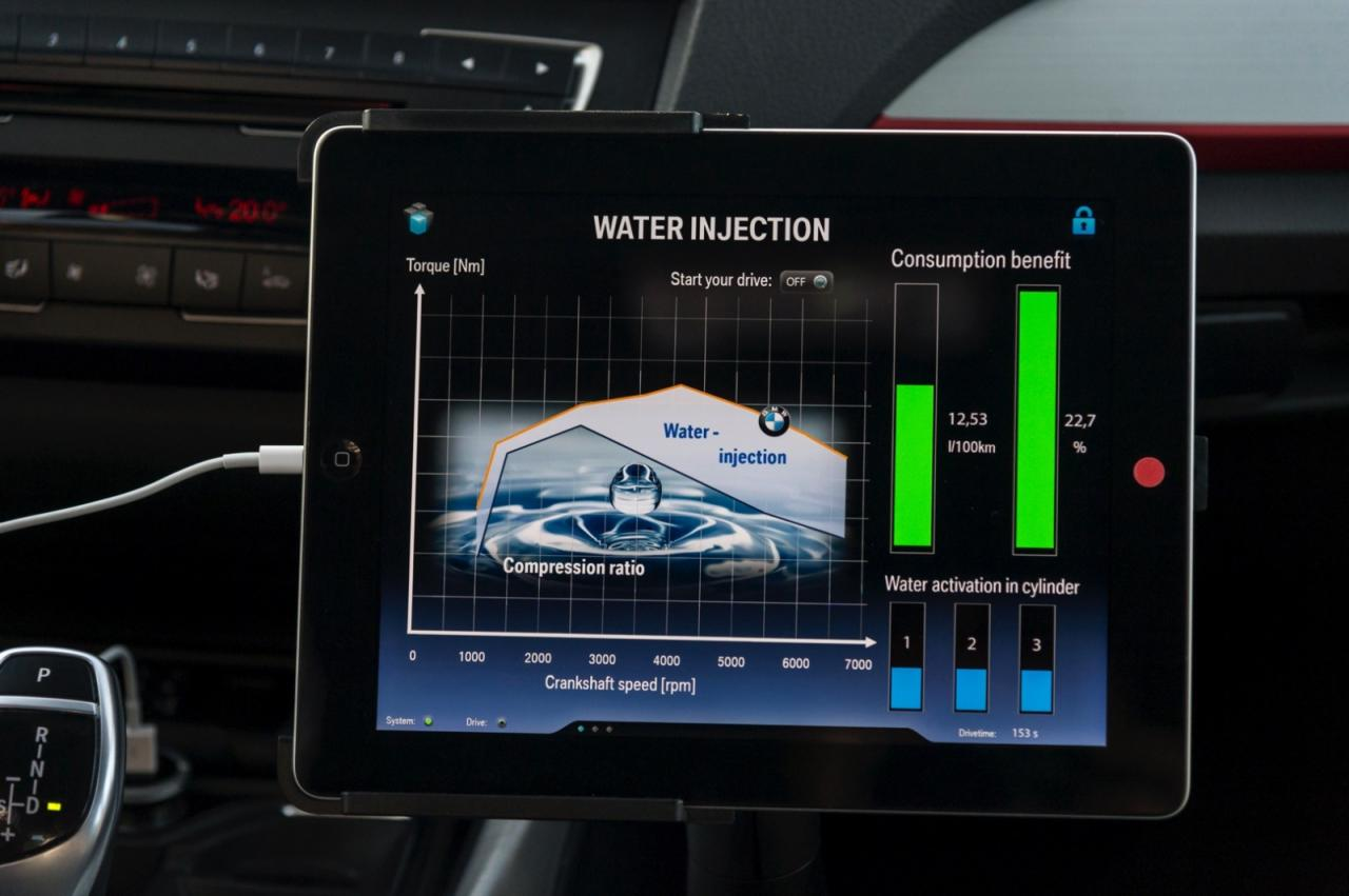 BMW water injection