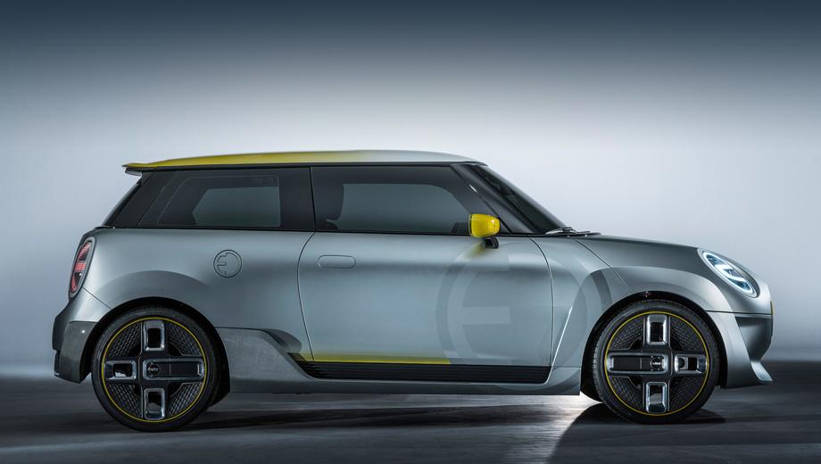 BMW i1 разделит начинку с электрокаром Mini