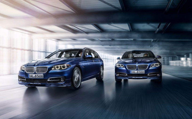 Alpina «зарядила» универсал и седан BMW 5-Series