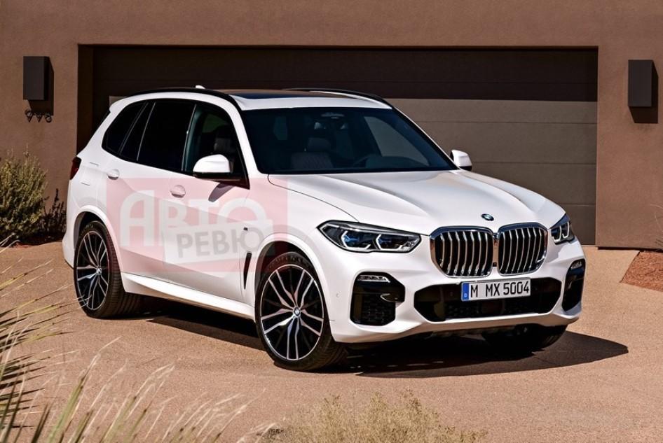 Опубликованы фотографии нового BMW X5 G05
