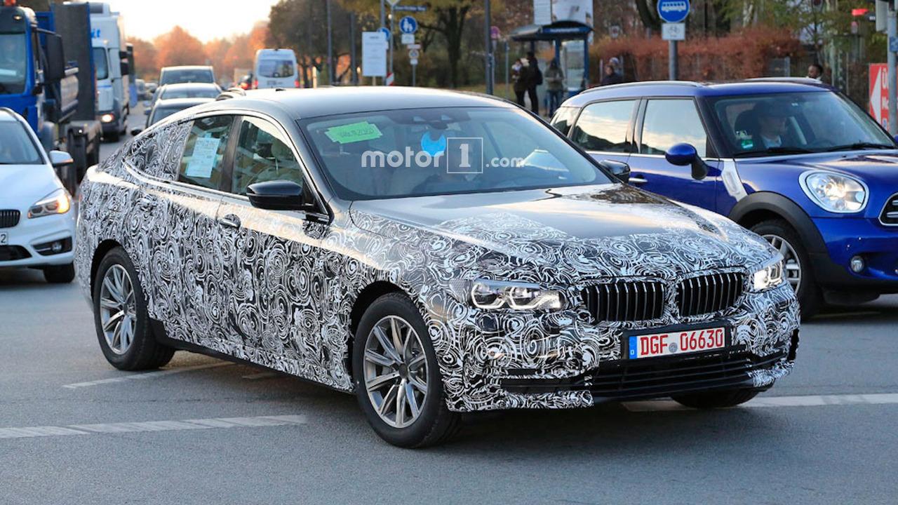 Хэтчбек BMW 5 серии превратится в «шестерку» при смене поколений