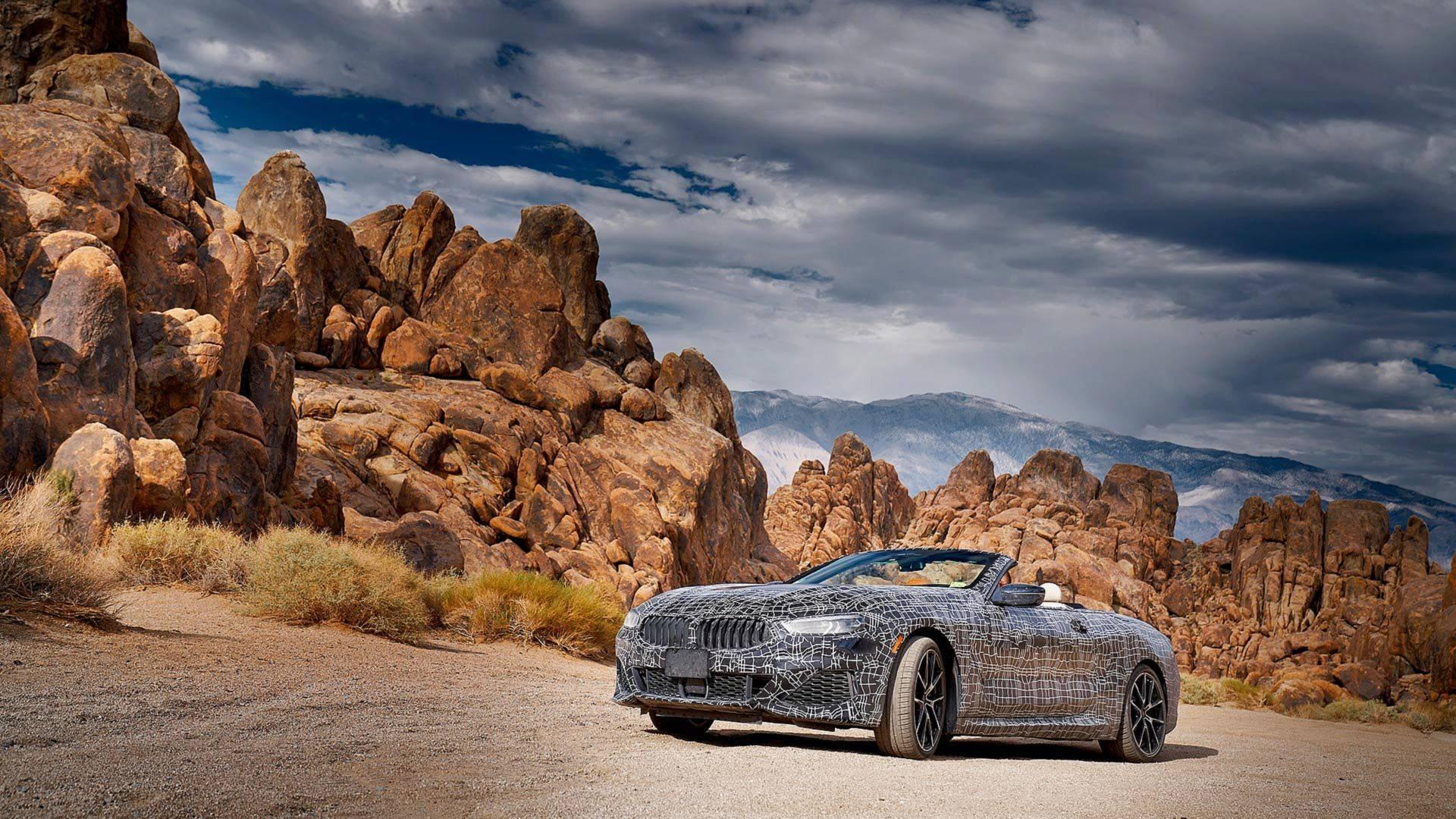 Кабриолет BMW 8 Series испытали в условиях экстремальных температур