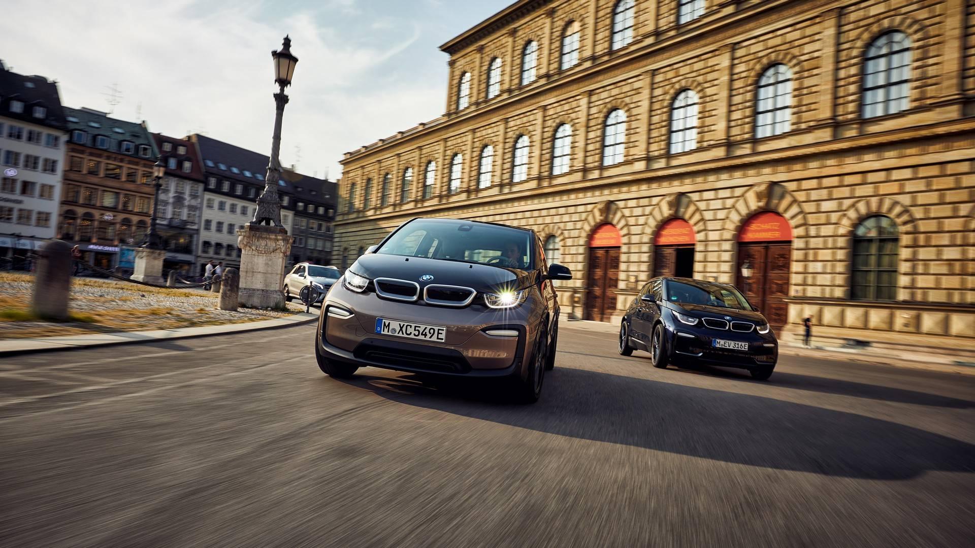 Электрокар BMW i3 получил батарею увеличенной емкости