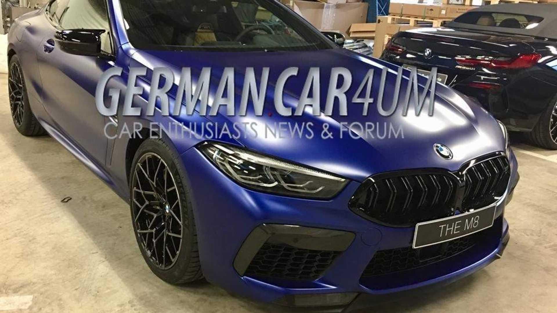 Спорткупе BMW M8 Competition показали на шпионских фото